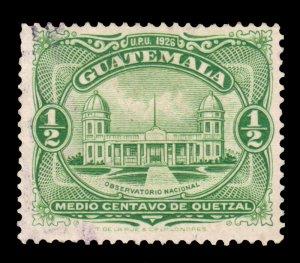 GUATEMALA STAMP 1929 SCOTT # 233. USED. # 8