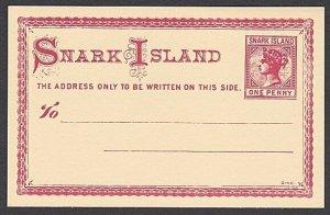 GB WONDERLAND Gerald King SNARK ISLAND fantasy postcard.....................R258