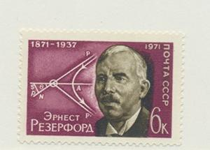 Russia Scott #3888, Ernest Rutherford, British Physicist Issue From 1971 - Fr...