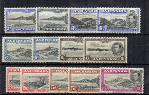 Ascension 1938-53 values to 10s + variations MHN/MLH/MH