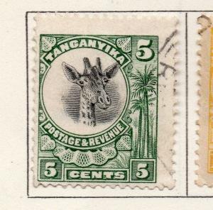 Tanganyika 1925 Early Issue Fine Used 5c. 269595