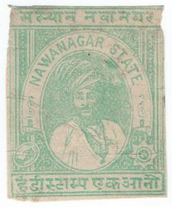 (I.B) India (Princely States) Revenue : Nawanagar State Duty 1a