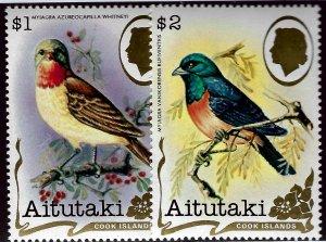 Aitutaki  #246A-246B MNH VF SC$15.00 ...Collectors unite!