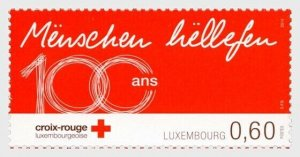 2014   LUXEMBOURG  -  SG  2003 - 100 YEARS OF RED CROSS - UNMOUNTED MINT