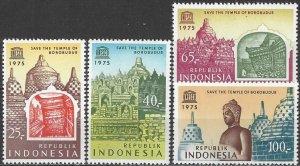 Indonesia  947-50  MNH  UNESCO