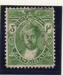 Zanzibar 1913-14 Early Issue Fine Used 3c. 115693