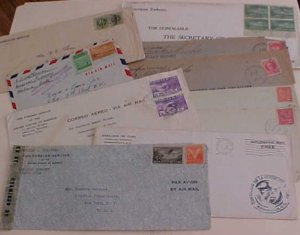 CUBA  US CONSUL 7 COVERS also 5 SANITARY REPORTS FRONTS ONLY BEFORE 1921