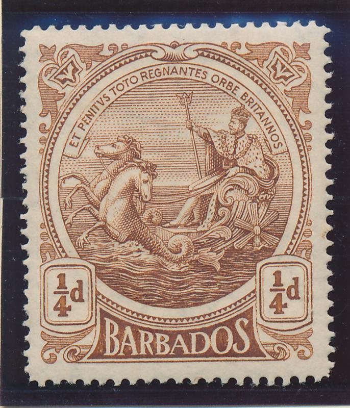 Barbados Stamp Scott #127, Mint Hinged - Free U.S. Shipping, Free Worldwide S...