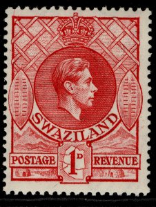 SWAZILAND GVI SG29a, 1d rose-red, M MINT.