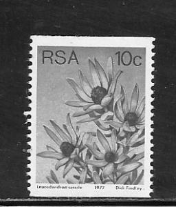 South Africa #495 mnh cv $.30 Flowers