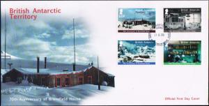 British Antarctic Territory Scott 458-461 Unaddressed.