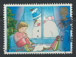 Great Britain SG 1379 -  Used - Christmas