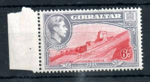Gibraltar KGVI 1938 6d Perf 13.5 unmounted mint WS12600