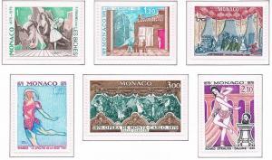 Monaco VF-NH #1181-1186