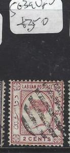 LABUAN  (P1601BB) QV 2C  SG 39     VFU