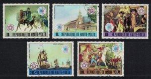 Upper Volta US Independence 5v 1976 CTO SG#414-418
