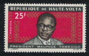 Upper Volta President Yameogo 1v 1965 MNH SG#171
