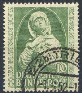 West Germany SG1077 10pf + 5pf Green