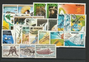 Senegal Topical Very Fine MNH** & Used Stamps Lot Collection 15396