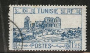 Tunis Tunisia Scott 102 used 1928 stamp