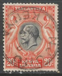 KENYA, UGANDA & TANZANIA 50 VFU E28-5