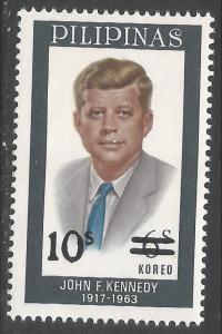 PHILIPPINES 1148 MNH JFK R877-11
