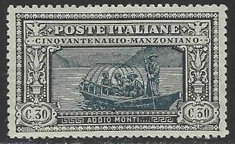 Italy #167 Mint Lightly Hinged