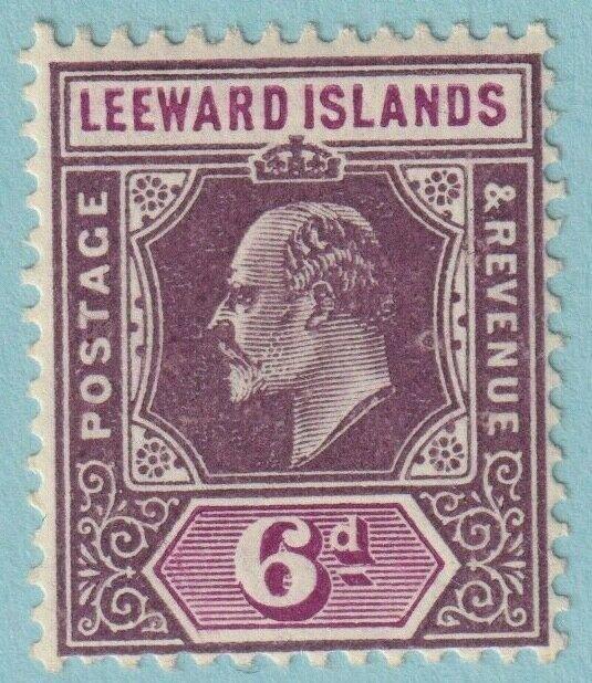 LEEWARD ISLANDS 36 MINT HINGED OG * NO FAULTS VERY FINE!
