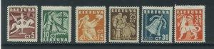 Lithuania 317-22  MNH