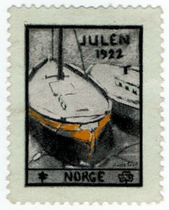 (I.B) Norway Cinderella : Christmas Seal (1922)