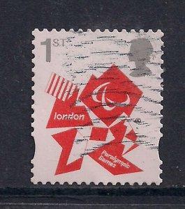 GB 2012 QE2 1st London Olympic Paralympic Games Emblem  SG 3250 ( M530 )