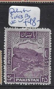 PAKISTAN (P3012B)  25R  SG 43B   VFU