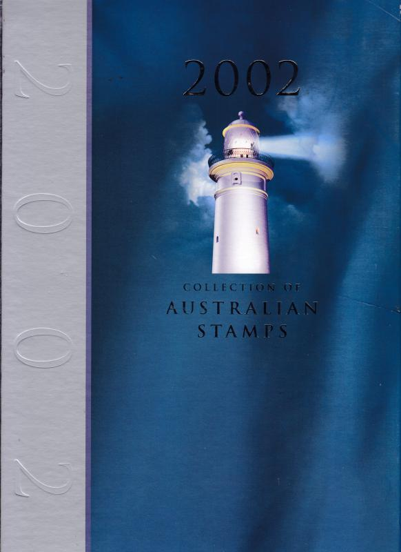 Australia 2002 Year Set in Beautiful Hard Cover Presentation BooK  All VF/NH