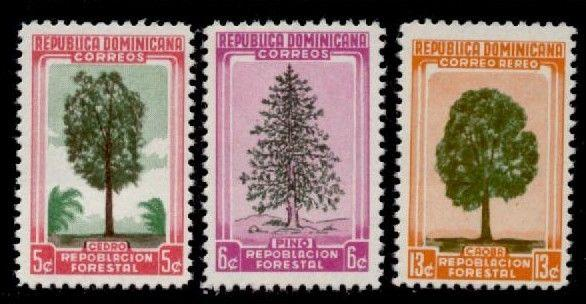 Dominican Republic 471-2, C96 MNH Trees
