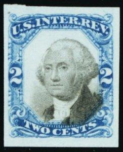R104TC5, Superb 2¢ Proof on India Paper - Stuart Katz