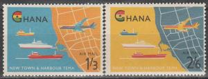 Ghana #C3-4 MNH  (S3075)