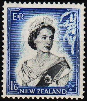 New Zealand. 1953 1s6d S.G.733 Mounted Mint