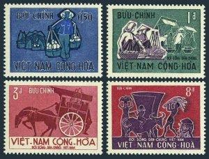 Viet Nam South 307-310,MNH.Michel 384-387. Labor Day 1967.Buffalo.