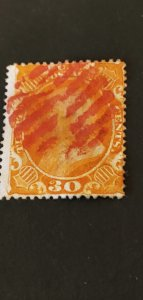 US #38 Used CV $475