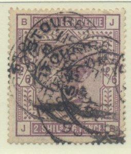 Great Britain Stamp Scott #96, Used - Free U.S. Shipping, Free Worldwide Ship...