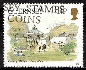 Guernsey 1986 SG. 377 used (10827)