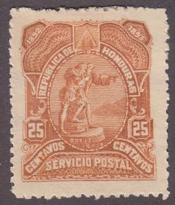 Honduras 70 Christopher Columbus 1892