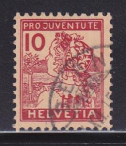 Switzerland B3 VF-used neat cancel nice color scv $ 88 ! see pic !