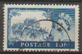 Great Britain SG 597 Used  De La Rue printing
