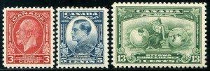 HERRICKSTAMP CANADA Sc.# 192-94 1932 Ottawa Conference NH Cat. Value $38.50