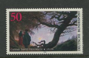 Germany -Scott 1152 - General Issue.-1974 - MNH -Single 50pf Stamp