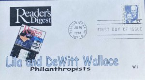WII Colorprint 2936 Lila and DeWitt Wallace Reader's Digest Philanthropists