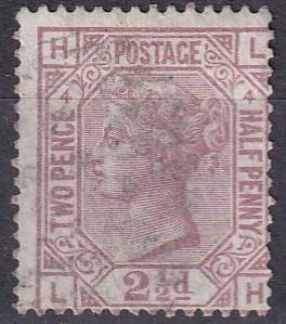 Great Britain #67 Plate 4 F-VF Used  CV $60.00 Z20