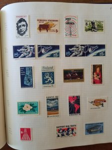 1 Collection of US Mint and Used stamps in a Devon Binder... SCV over $700.00
