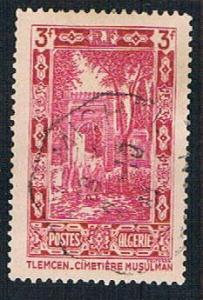 Algeria 104 Used Cemetery (BP8318)